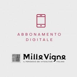 Millevigne abbonamento annuale digitale