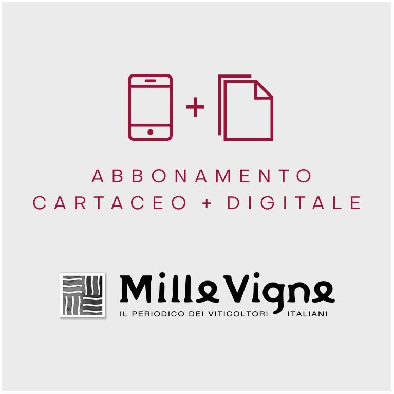 Millevigne abbonamento annuale cartaceo + digitale