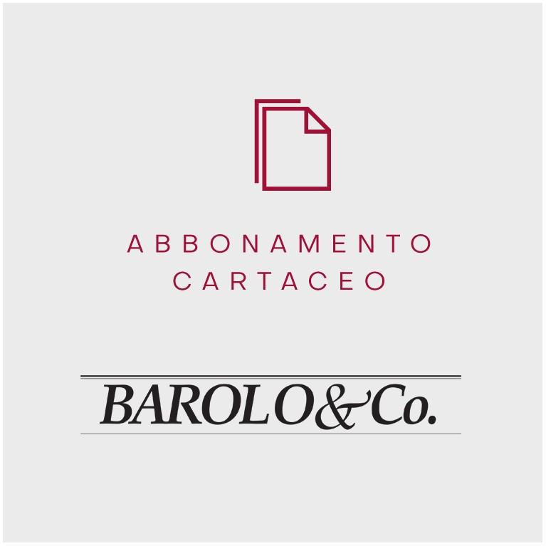 Barolo & Co. abbonamento cartaceo